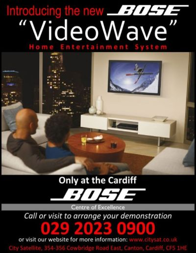 Bose Videowave Advert